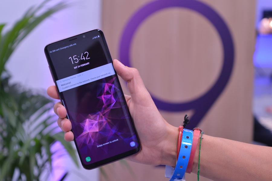 comparativa Huawei P20 Pro o Samsung Galaxy S9+ pantalla S9+
