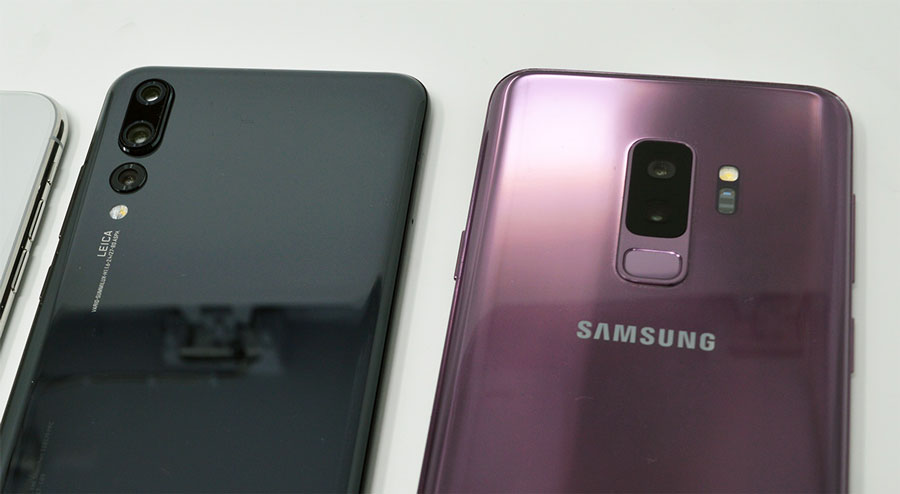 comparativa Huawei P20 Pro o Samsung Galaxy S9+ cámaras