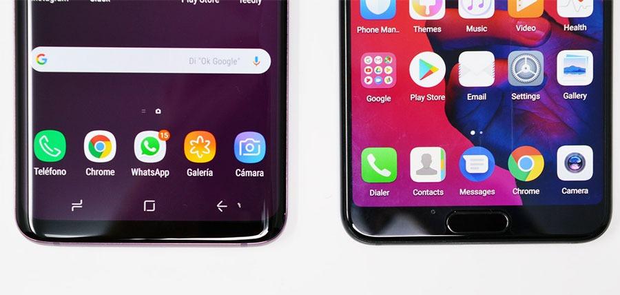 comparativa Huawei P20 Pro o Samsung Galaxy S9+ autonomía