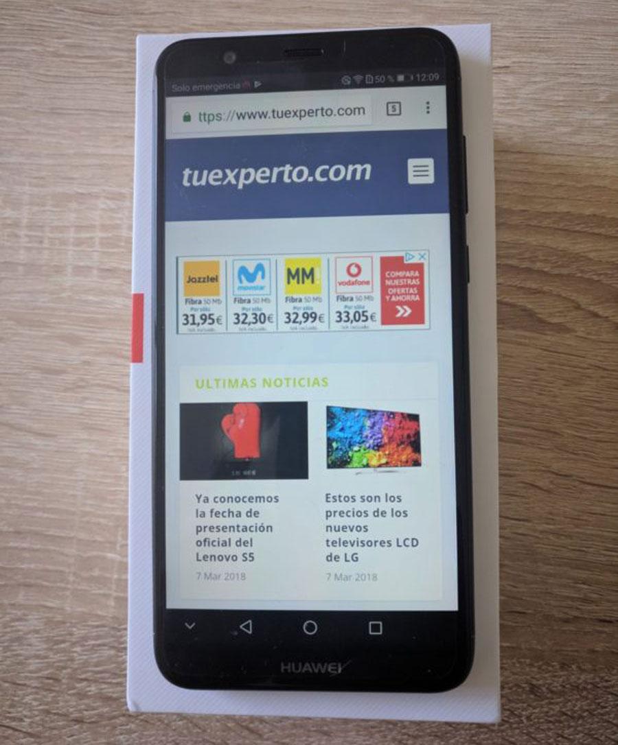 fe879d6d40a comparativa Huawei P Smart vs Honor 9 Lite pantalla P Smart