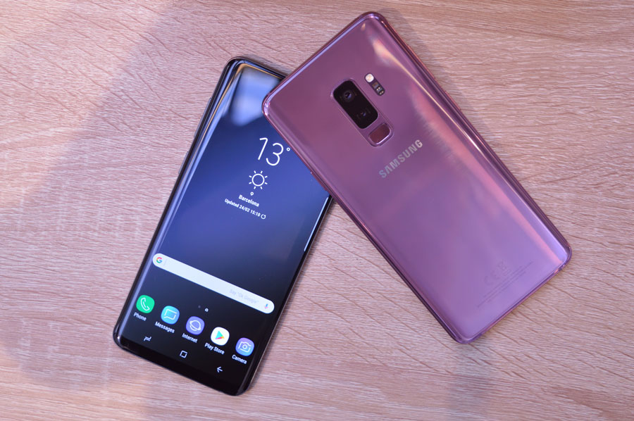 Precios del Samsung™ Galaxy™ S9+ con Vodafone, Movistar™ y Orange