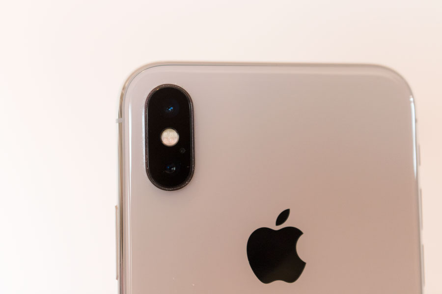 comparativa Samsung Galaxy S9+ vs iPhone X cámaras iPhone X