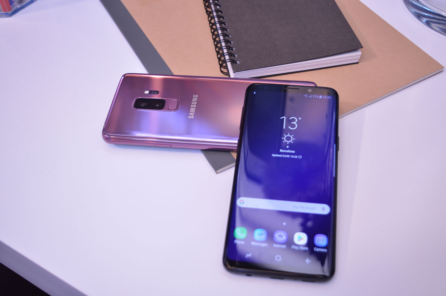 comparativa Samsung Galaxy S9+ vs iPhone X procesador S9+
