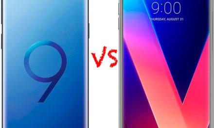 Comparativa Samsung Galaxy S9 vs LG V30