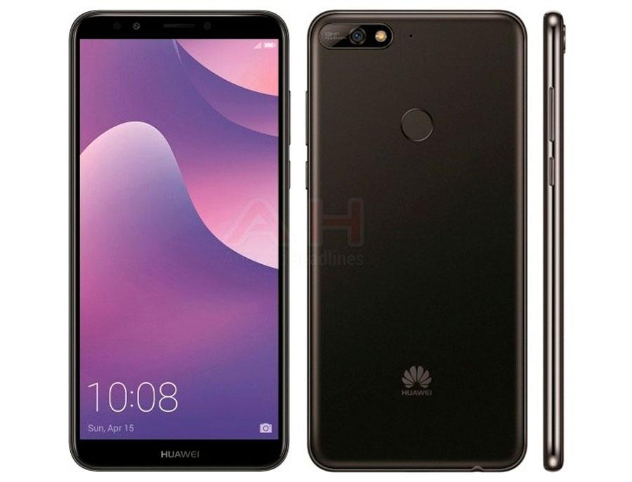 El Huawei™ Y7 2018 aparece en imágenes de prensa