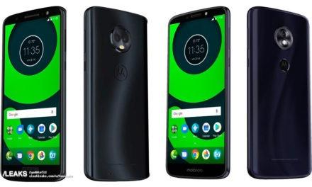 Posible diseño y características de los nuevos Motorola Moto G6