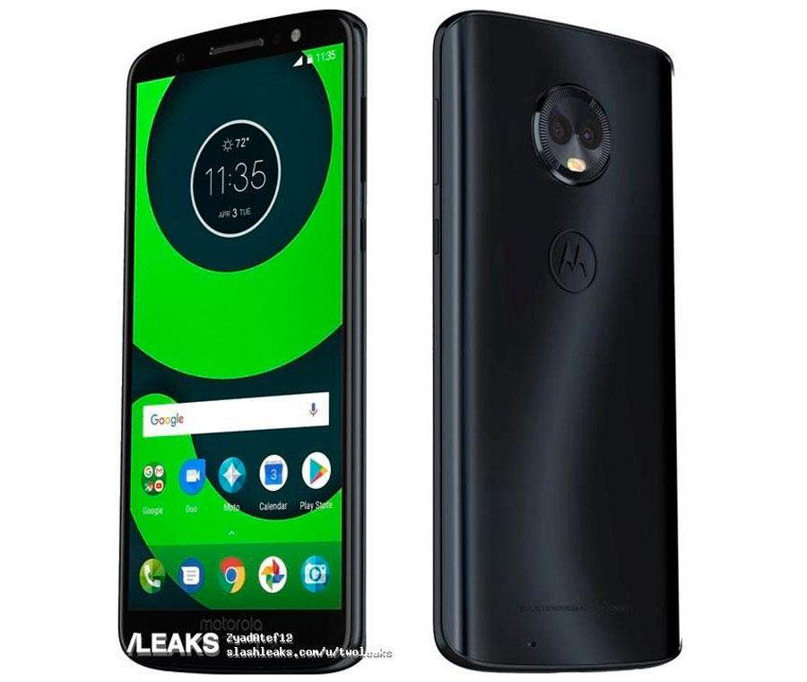 Posible boceto y características de los recientes Motorola™ Moto™ G6 G6 Plus