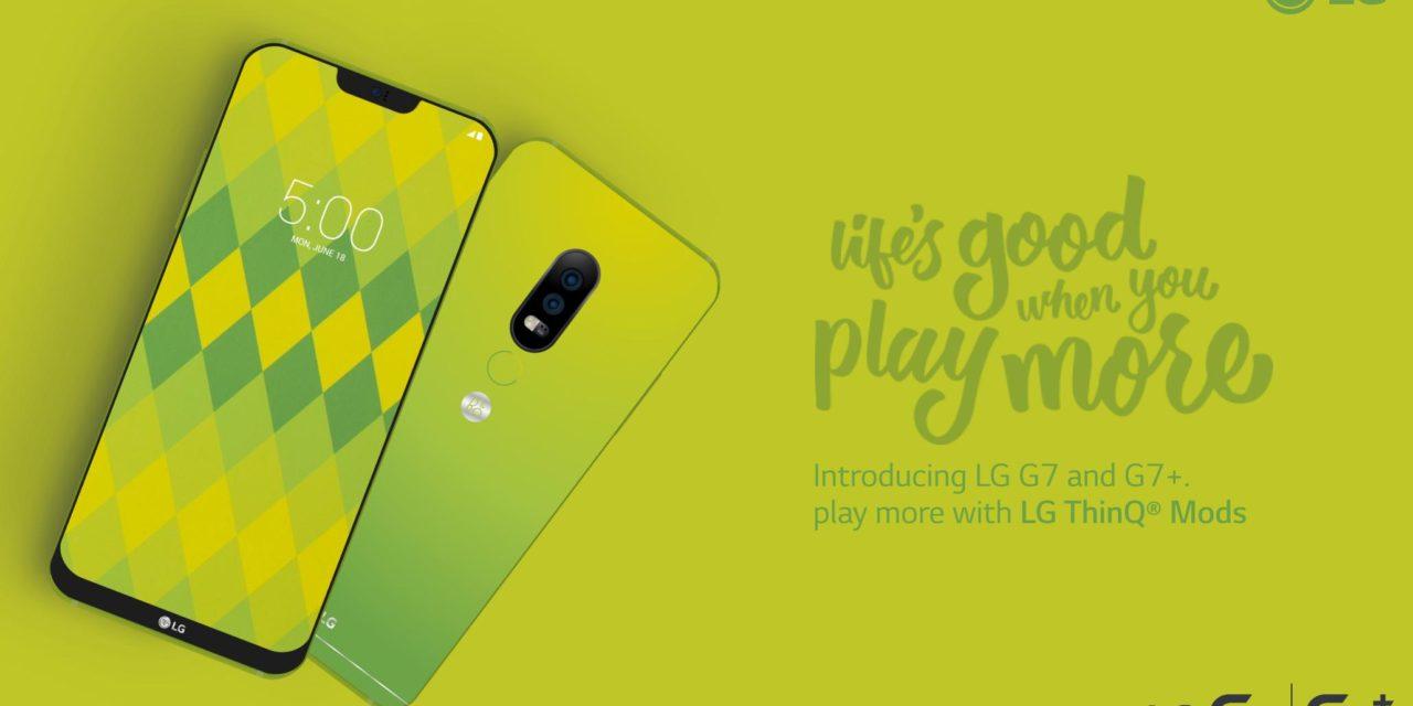 Una imagen promocional nos muestra el diseño del LG G7