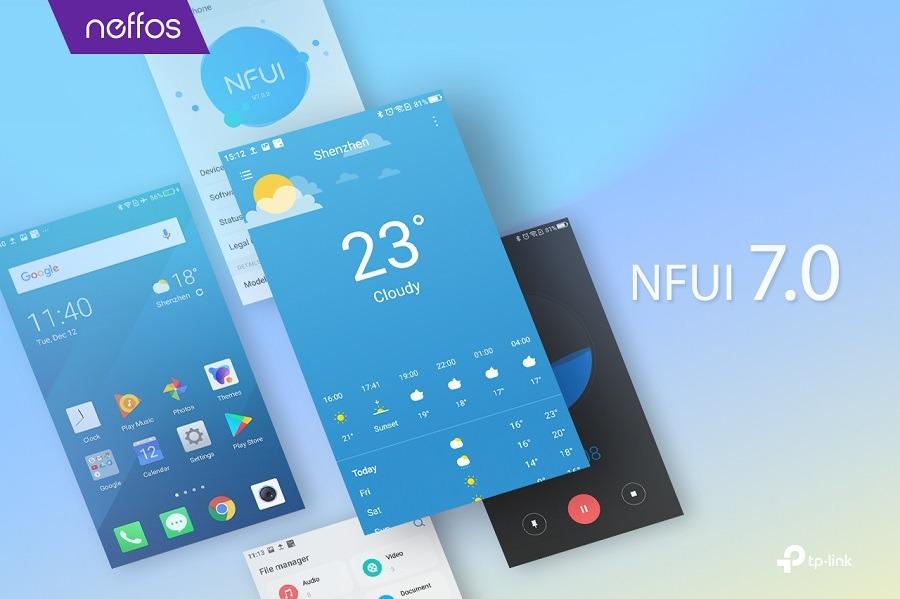 NFUI 7.0, así es la nueva interfaz de los móviles Neffos