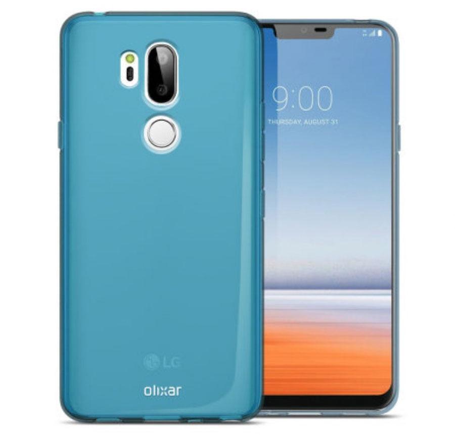 posible boceto LG G7 azul