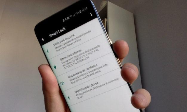Cómo solucionar el problema de Smart Lock del Samsung Galaxy S8 con Android 8