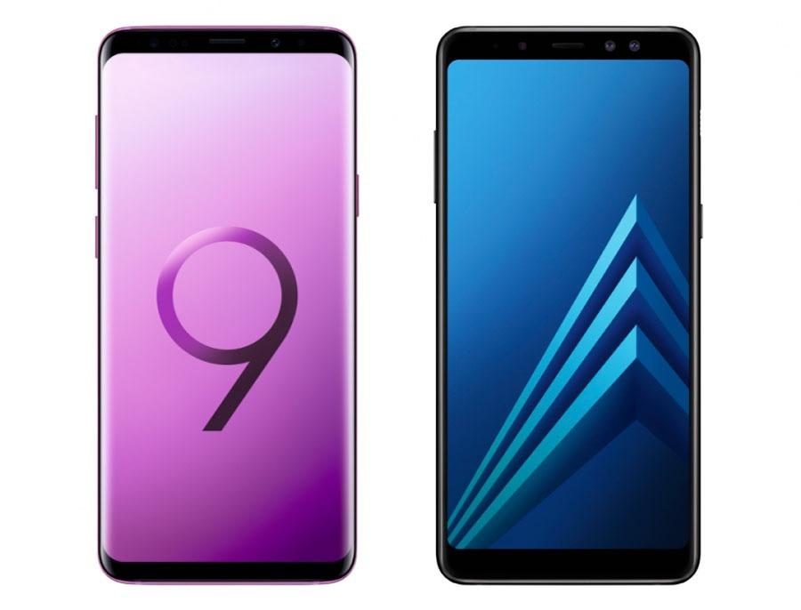 Samsung Galaxy S9 y A8 2018 tendrán versión Enterprise para empresas