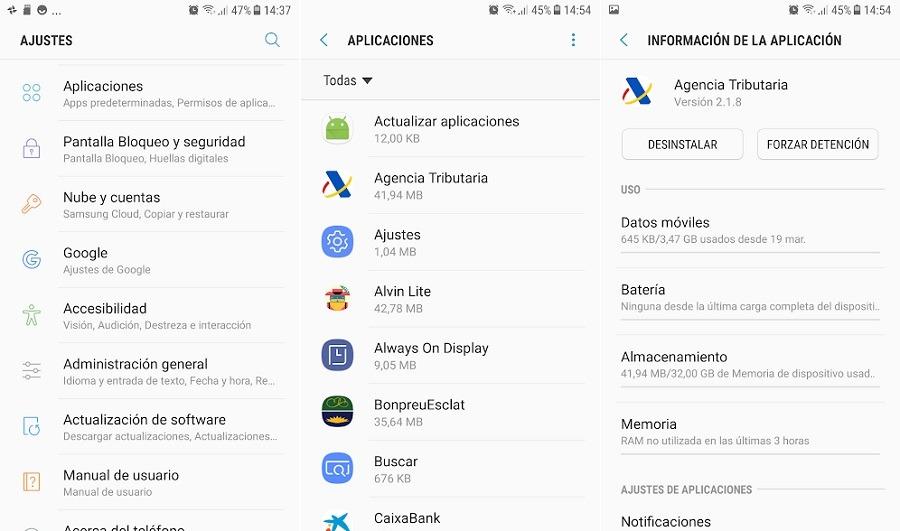 Configurar el móvil para que las apps se guarden en la tarjeta