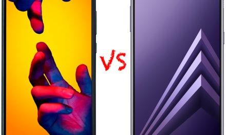 Comparativa Huawei P20 Lite vs Samsung Galaxy A8 2018