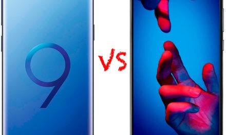 Comparativa Samsung Galaxy S9 vs Huawei P20