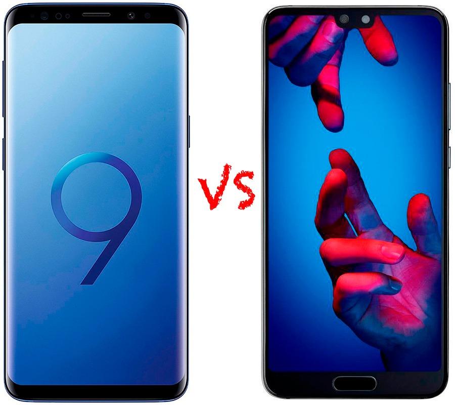 Comparativa Samsung™ Galaxy™ S9 vs Huawei™ P20