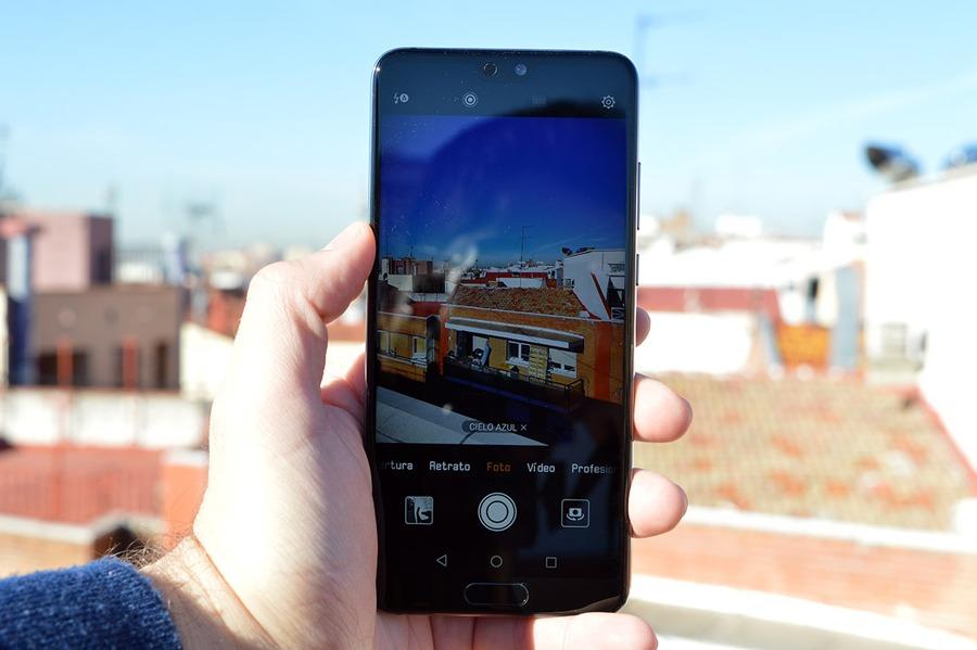 comparativa Samsung Galaxy S9 vs Huawei P20 pantalla P20