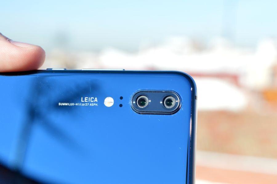 comparativa Samsung Galaxy S9 vs Huawei P20 cámara trasera P20