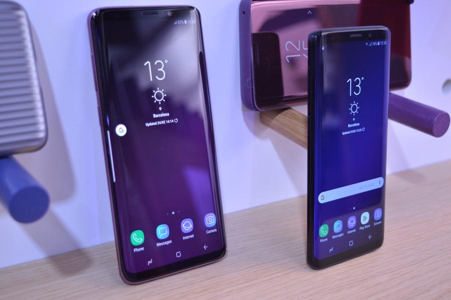 comparativa Samsung Galaxy S9 vs Huawei P20 batería S9