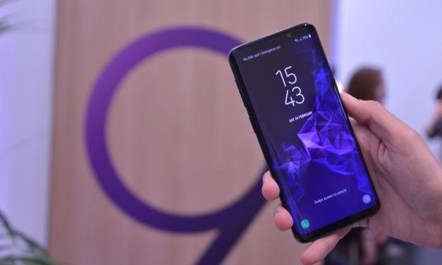 Samsung Galaxy S9 se actualiza con el parche de seguridad de mayo