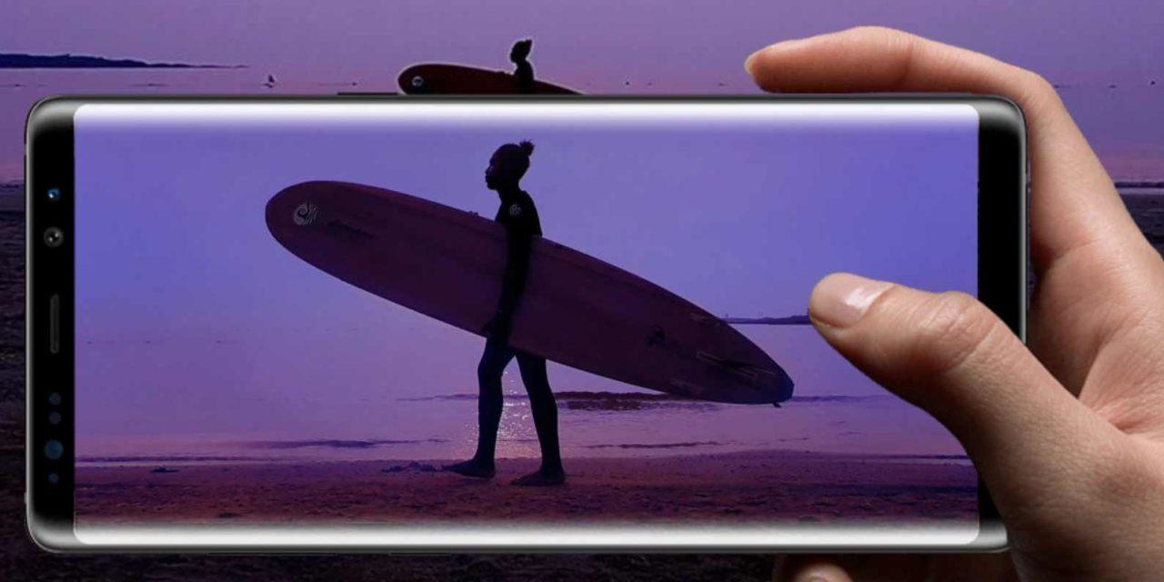 Samsung patenta un lector de huellas en pantalla para el Galaxy Note 9