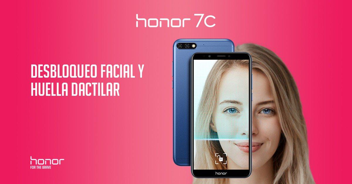Honor 7C desbloqueo