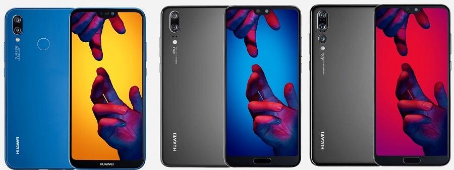 Las diferencias primordiales entre Huawei™ P20, Huawei™ P20 Pro y Huawei™ P20 Lite