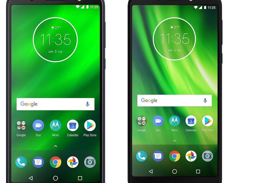 Motorola Moto G6 Plus y Moto G6 Play, un gran diseño para la gama media