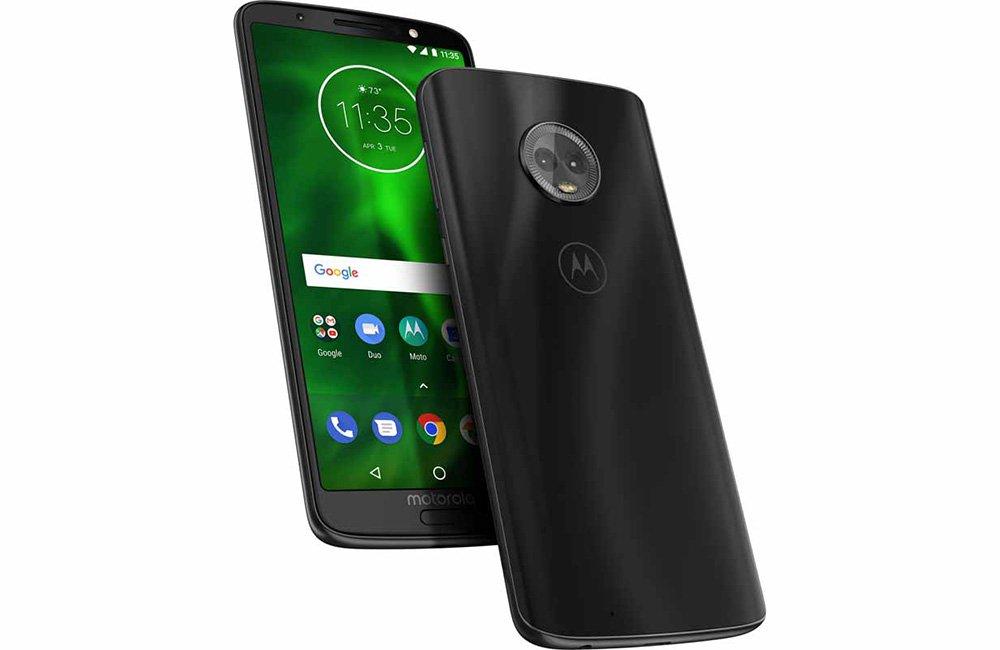 Primer vídeo en uso del Motorola Moto G6 Plus