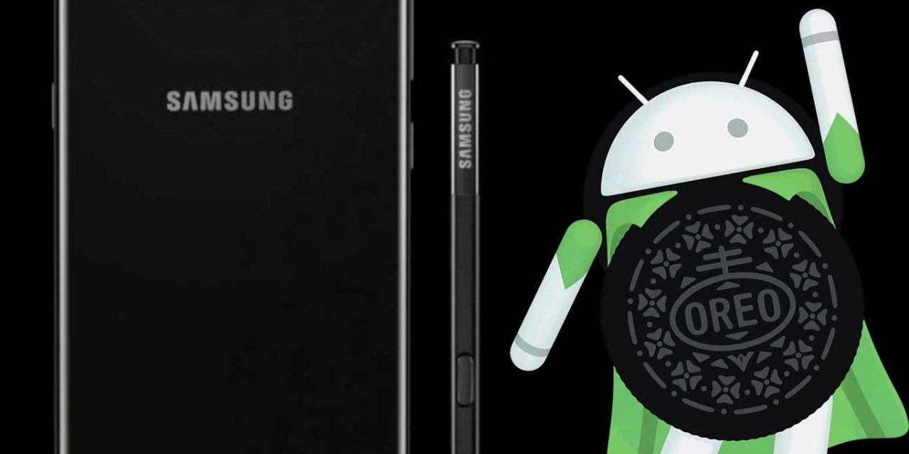 Ya está disponible Android 8.0 Oreo para los Samsung Galaxy Note 8 en España