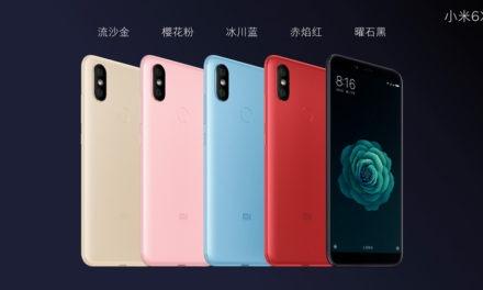 Xiaomi Mi A2, desvelados todos los datos del nuevo móvil de Xiaomi