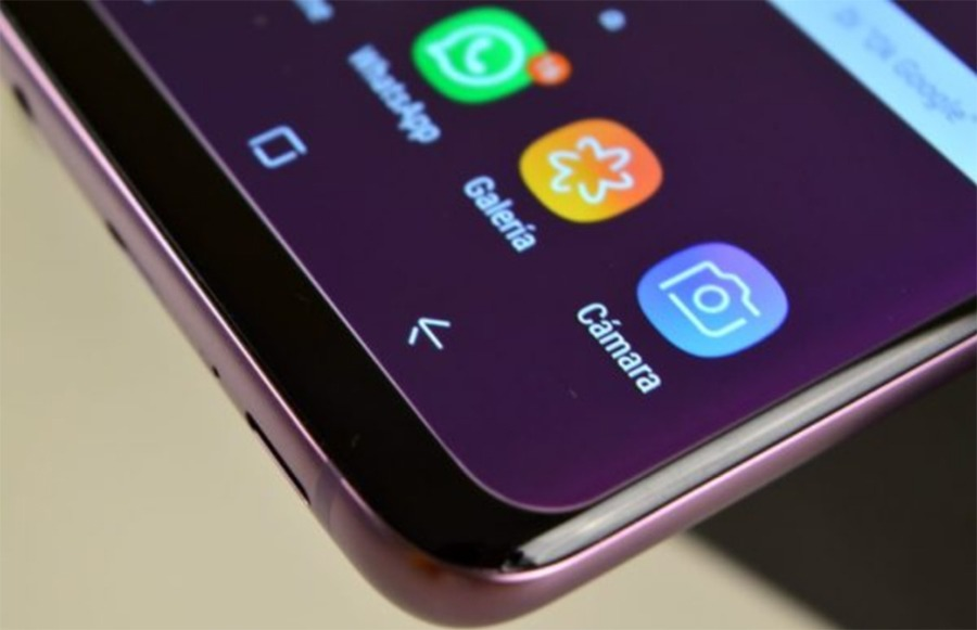 Cómo accionar el brillo edge del Samsung™ Galaxy™ S9 para notificaciones