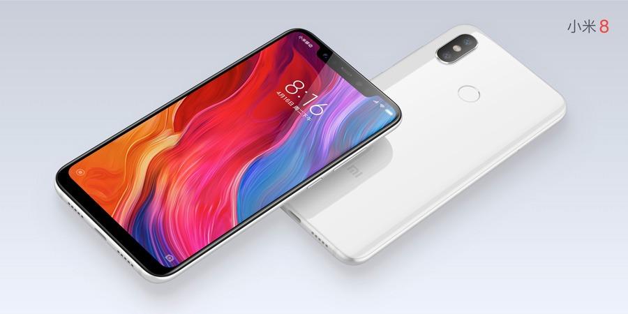 5 claves Xiaomi Mi 8 blanco