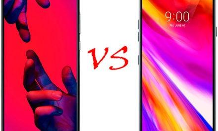 Comparativa Huawei P20 Pro vs LG G7 ThinQ