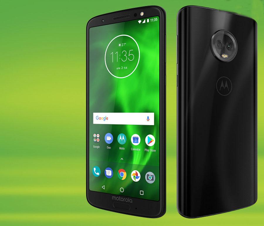 comparativa Motorola Moto G6 vs Huawei P20 Lite trasera Moto G6