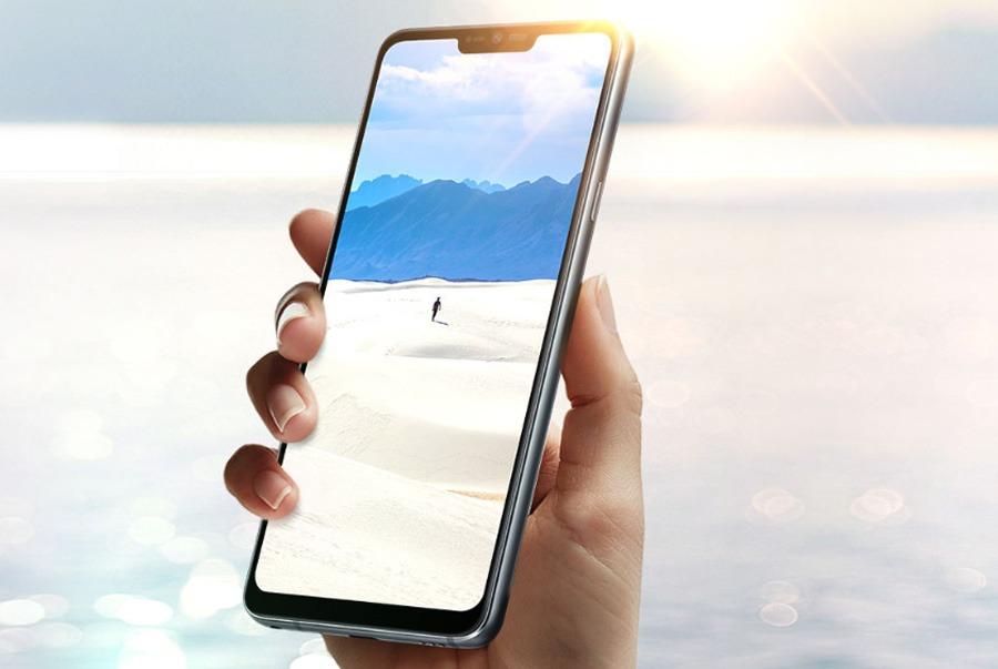 comparativa Samsung Galaxy S9 vs LG G7 ThinQ pantalla G7
