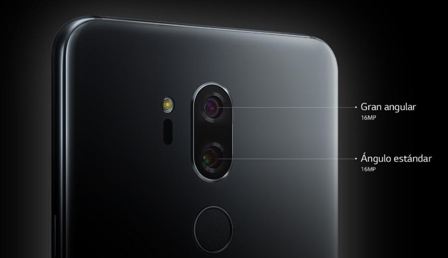 comparativa Samsung Galaxy S9 vs LG G7 ThinQ cámara trasera G7