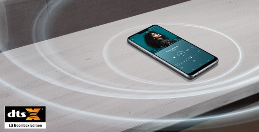comparativa Samsung Galaxy S9 vs LG G7 ThinQ sonido G7