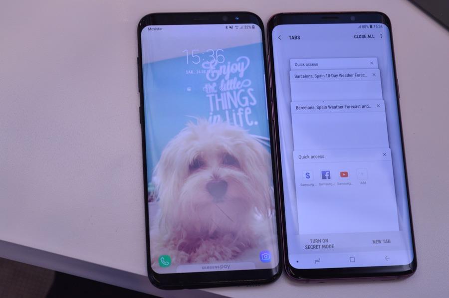 comparativa Samsung Galaxy S9 vs LG G7 ThinQ procesador S9