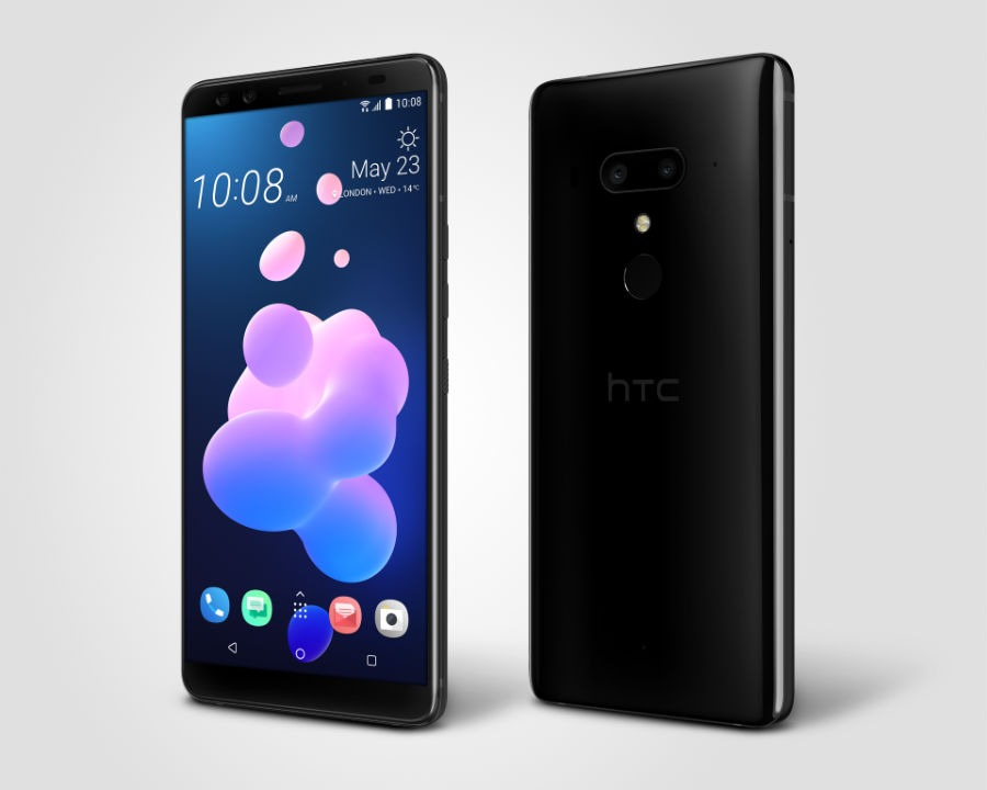 HTC U12+ diseño