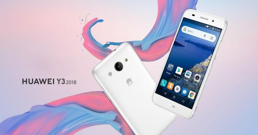 Las cinco características clave del Huawei Y3 2018