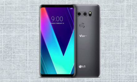 Aparece la primera imagen real del LG V35 ThinQ