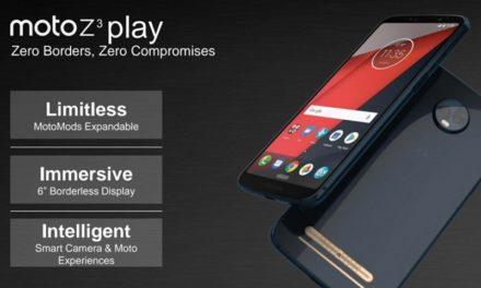 Se filtran las especificaciones del Motorola Moto Z3 Play y nuevo Moto Mods