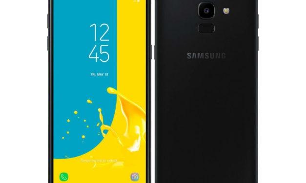 Samsung Galaxy J6, gama de entrada con pantalla infinita y Android 8