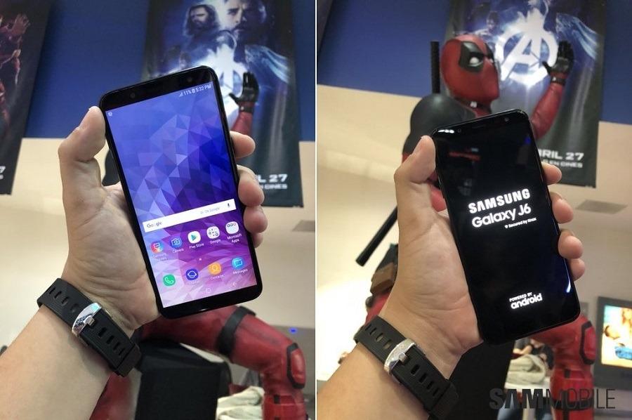 El Samsung Galaxy J6 deja ver al completo su diseño de pantalla infinita