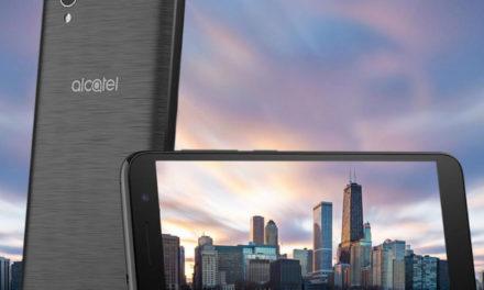 Alcatel 1, nuevo móvil de entrada con sistema Android Go