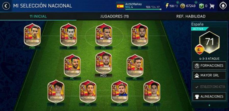 Todos los secretos del modo Mundial del FIFA 18 para móvil 2