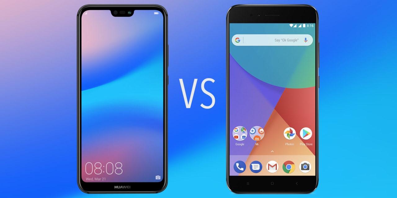 Comparativa Huawei P20 Lite vs Xiaomi Mi A1