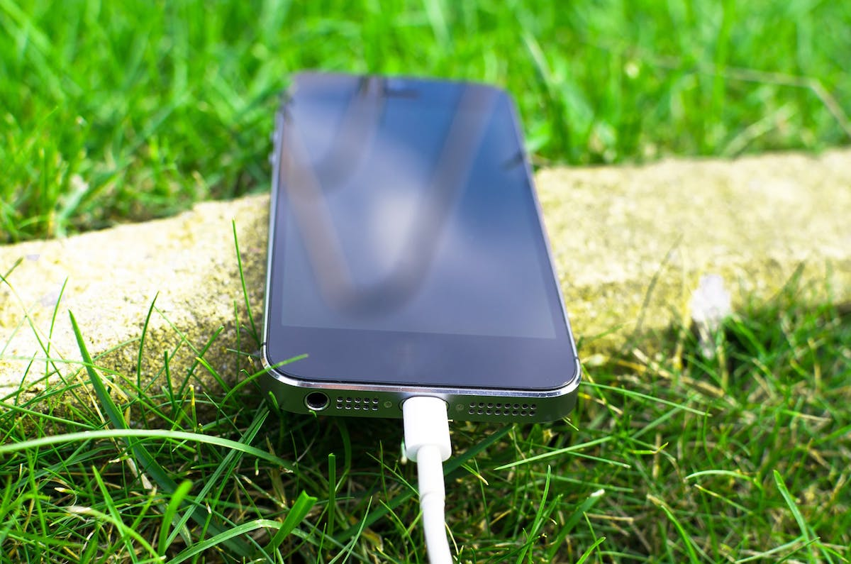 iphone con cable