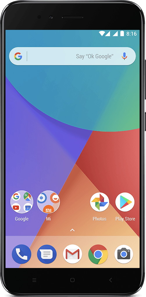 Xiaomi mi a1 diseño